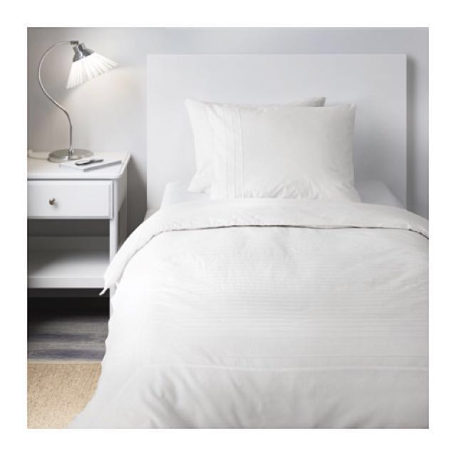 Ikea Alvine Stra Single Duvet Cover and Pillowcase (for single and twin beds)