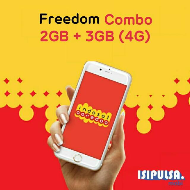 Indosat Freedom Combo M 5GB