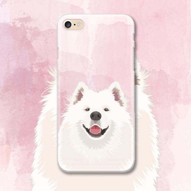 iPhone 6 薩摩耶狗狗手機殼