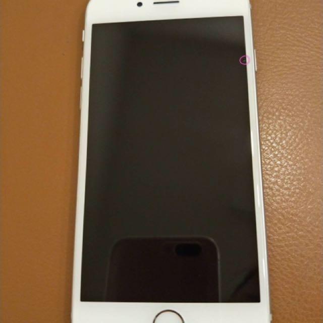 iPhone 6s 16g銀 使用約16個月 過保 8.5成新(送行動電源殼X1、手機殼x3、前後造型玻璃貼x5)