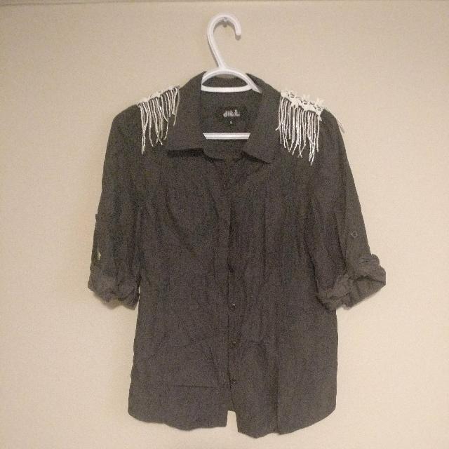 Jillstuart Grey Shirt