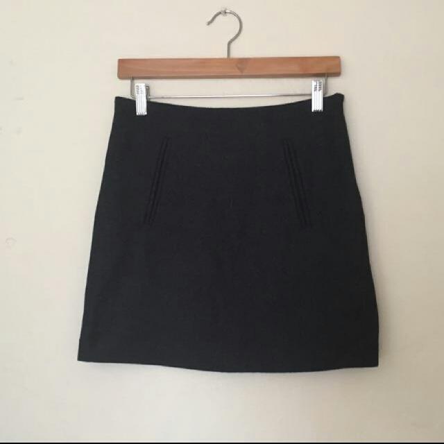 Kookai Wool Skirt
