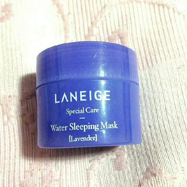 Laneige Water Sleeping Mask (Lavender) 15ml