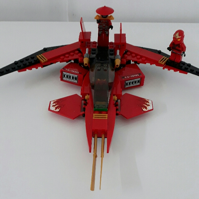 Lego Ninjago Kai Fighter Jet Toys Games Bricks Figurines On Carousell