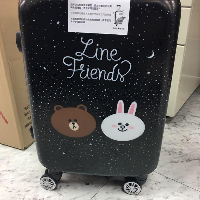 Line正版20吋行李箱