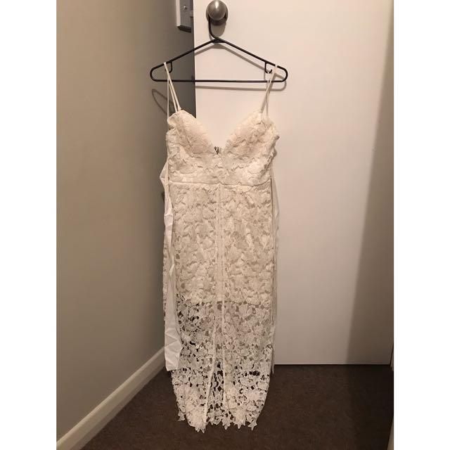 Little Lace White Dress
