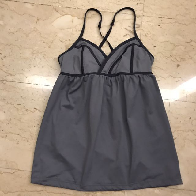 LULULEMON Rehearsal Dance Tank Top sz6, Sports, Sports Apparel on Carousell
