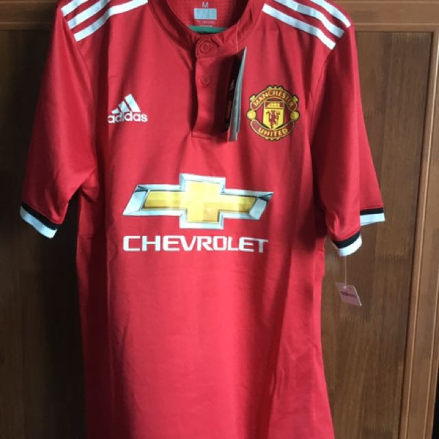 info for f566a a76c7 Manchester United Home Jersey 2017/2018