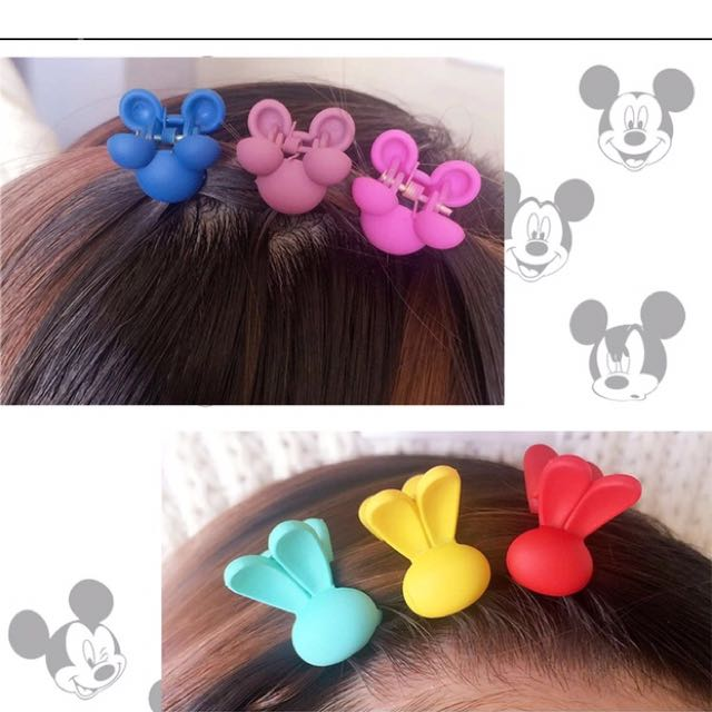 Mickey / bunny hair clip