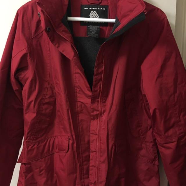 Misty Mountain light jacket/raincoat