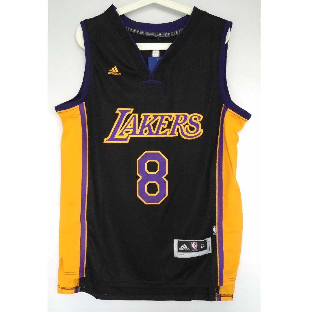 buy online fe08e d4791 NBA Swingman Jersey Kobe Bryant Los Angeles Lakers #8 Black ...