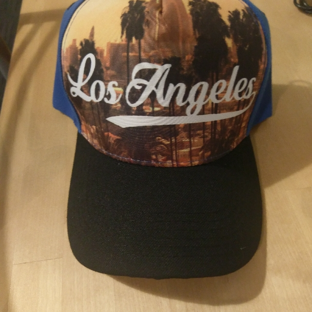 New Cap - Wording Los Angeles
