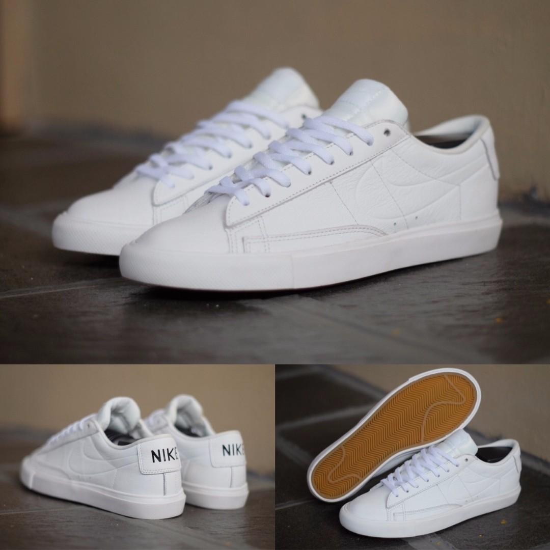 promo code 5eb45 4c263 ... low cost nike blazer low summit white leather original fesyen pria  sepatu di carousell c51a9 cea85