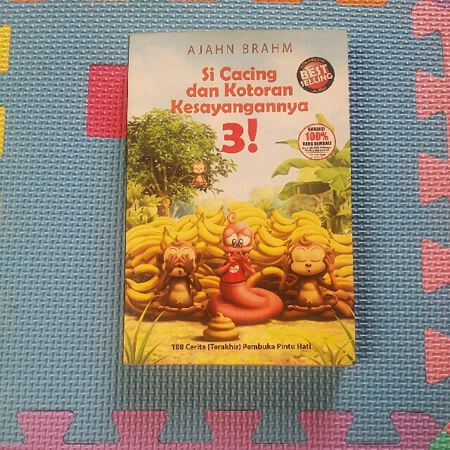 Novel ' Si Cacing Dan Kotoran Kesayangannya 3'