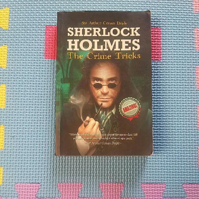Novel 'Sherlock Holmes The Crime Tricks'