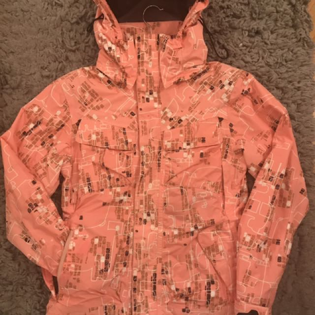 OAKLEY Snow Board Jacket Salmon - xs