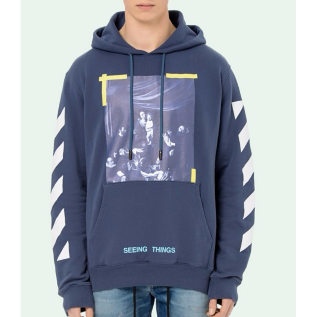 600 Off White 17FW Caravaggio Hoodie 63becfc33