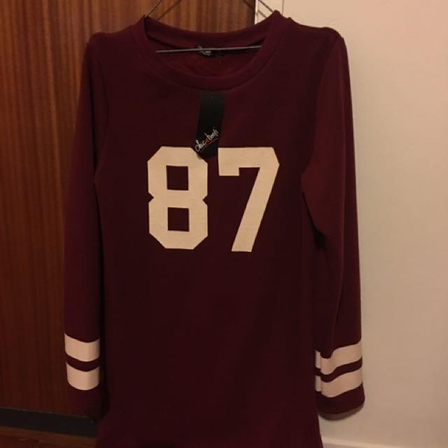 Oversized jersey