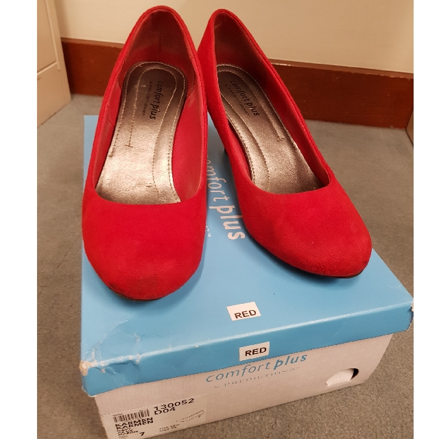 5ef0c7d55b0 REPRICED  Payless Comfort Plus Red Shoes