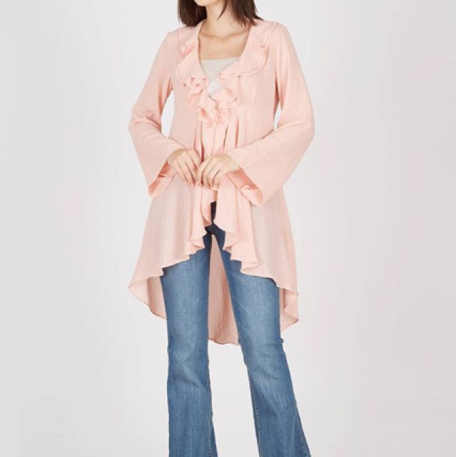 Peach blouse