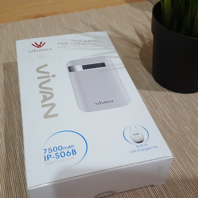 Powerbank VIVAN IP-S06B 7500mAh