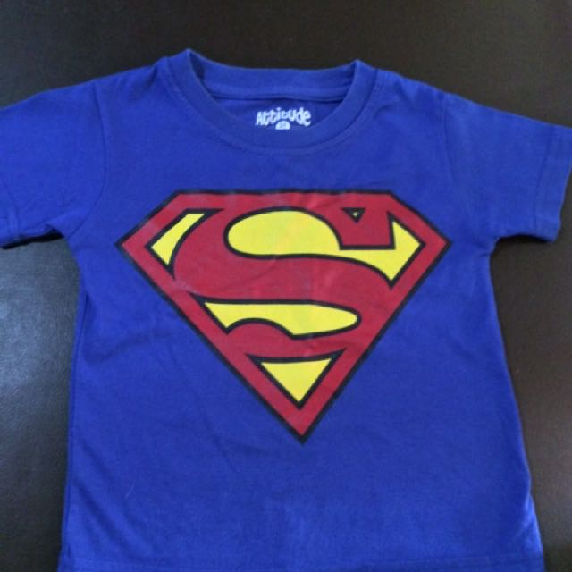 Preloved kids Superman t-shirt