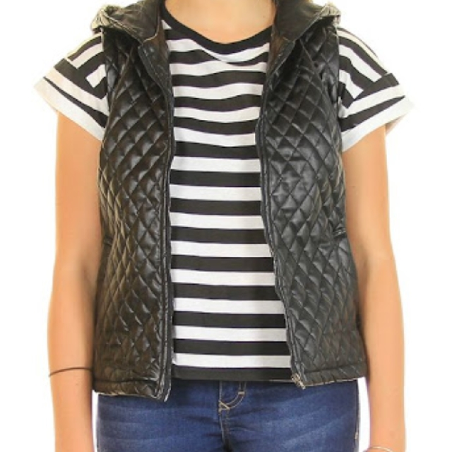 quilted vest!