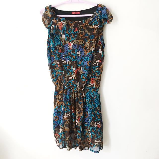 ‼️REPRICED‼️Petit Monde Multicolored Dress