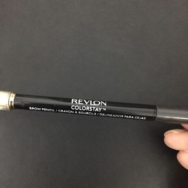 REVLON color stay brow pencil - 225 soft black