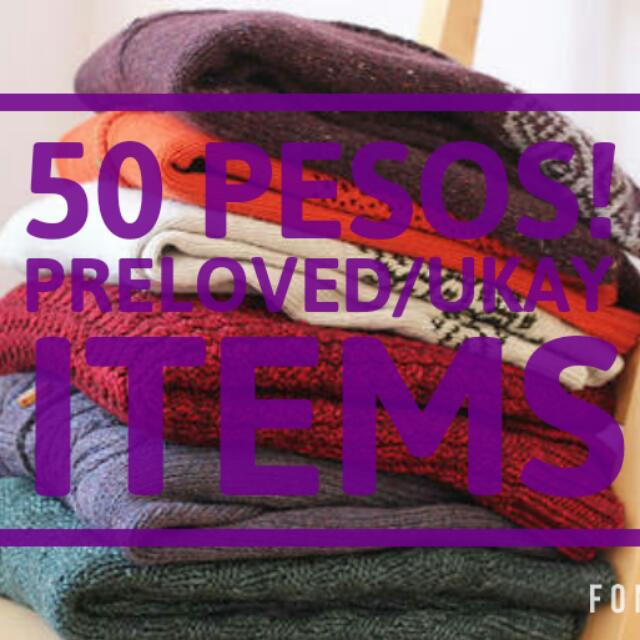 SALE! PRELOVED CLOTHES