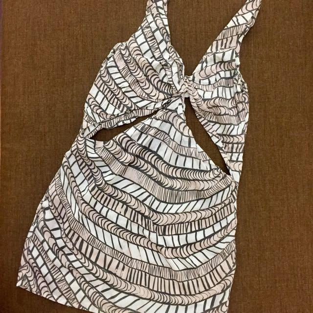 Sass Bide Cutout mini dress