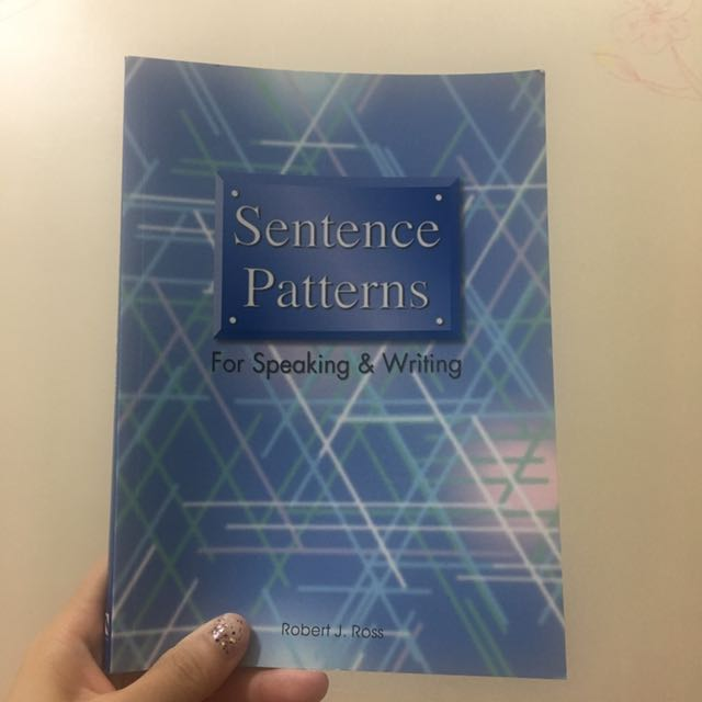 Sentence Patterns For Speaking And Writing #教科書出清