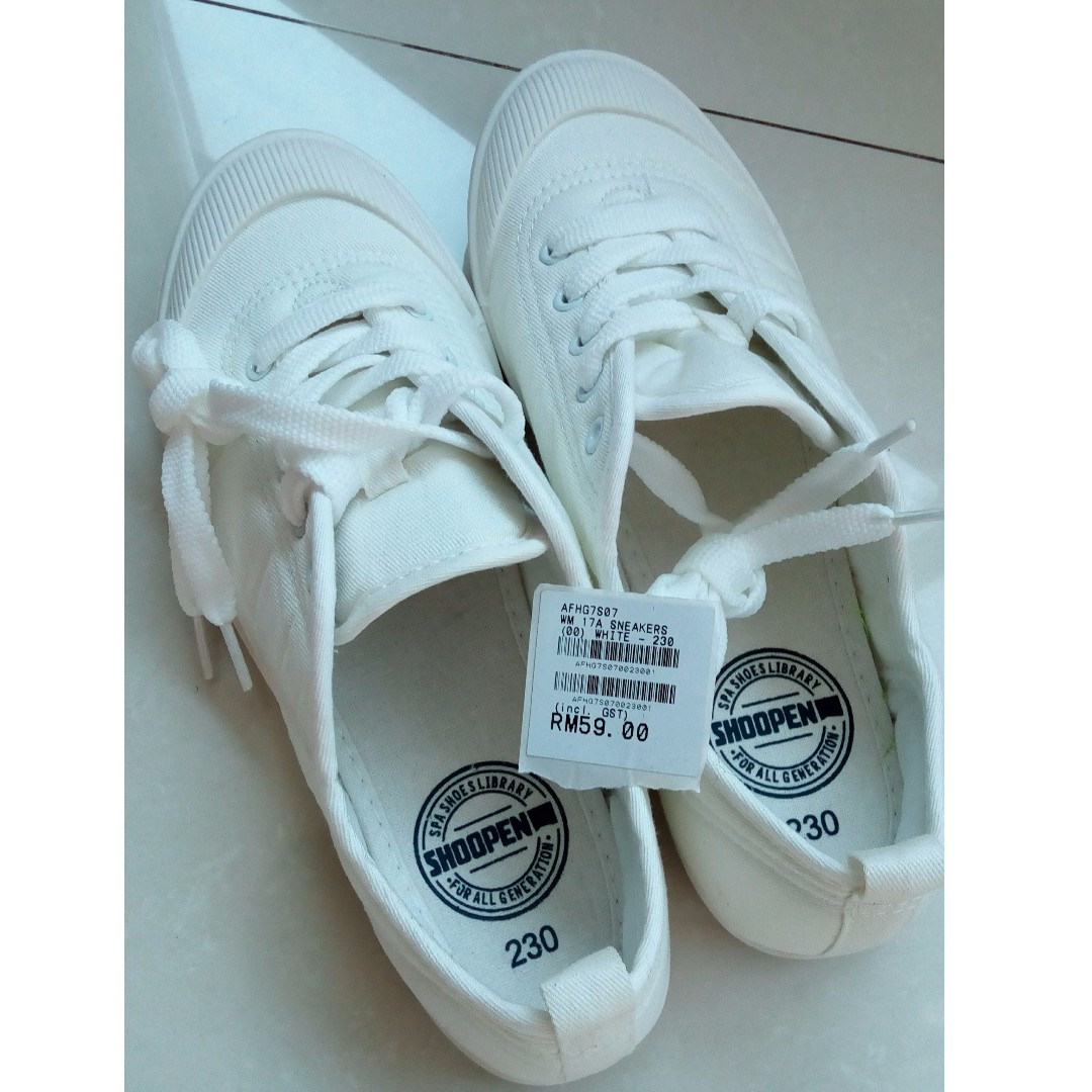 Shoopen Macaron Shoes White 230mm