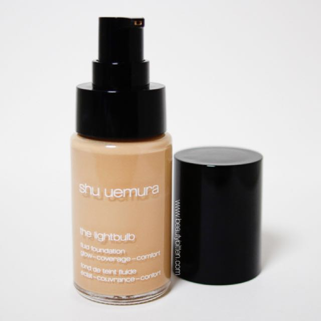 Shu Uemura - The Lightbulb Fluid Foundation