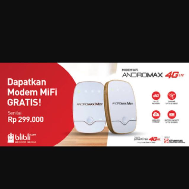 smartfren modem wifi 4G