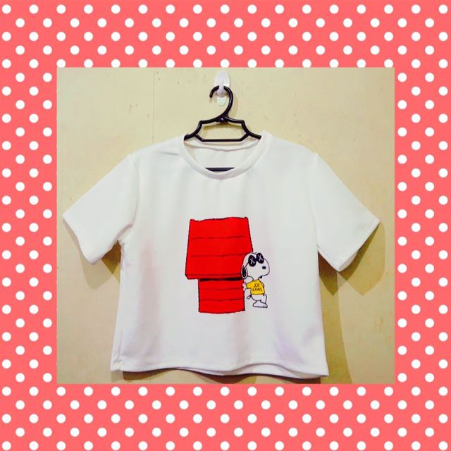 Snoopy Print Top