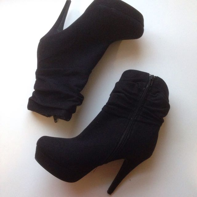 Stiletto Boots Black