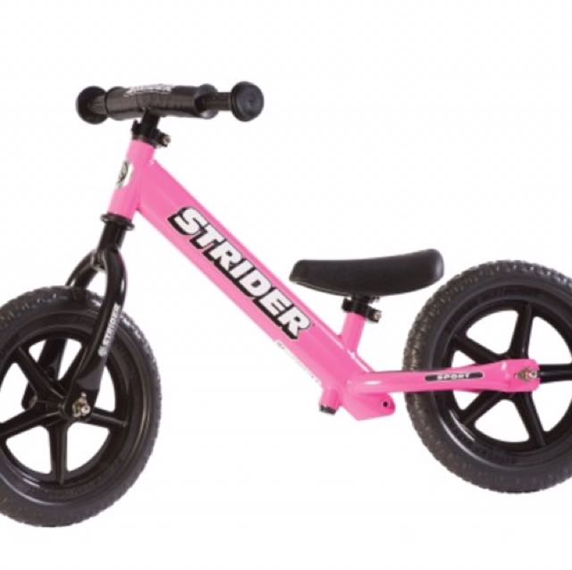 Magnificent Strider Balance Bike Pink Pdpeps Interior Chair Design Pdpepsorg