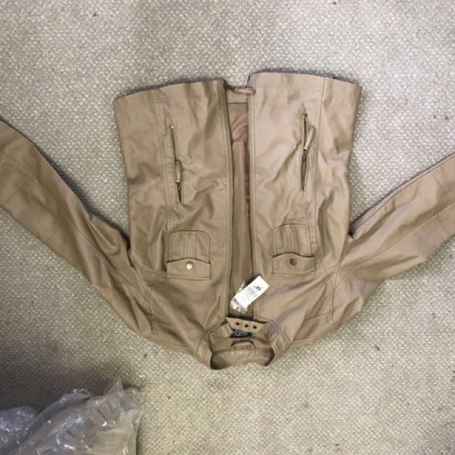 Suzy leather jacket