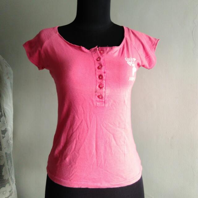 T Shirt / Kaos Pink