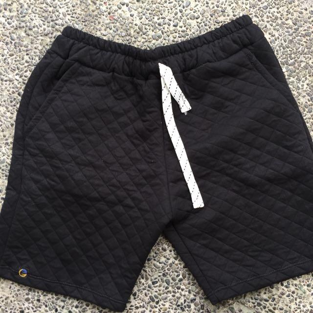 Textured Sweat Shorts