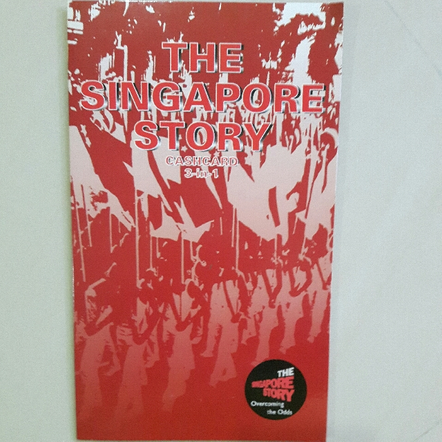 The Singapore Story Cashcard 3-in-1 Cash Cards Set