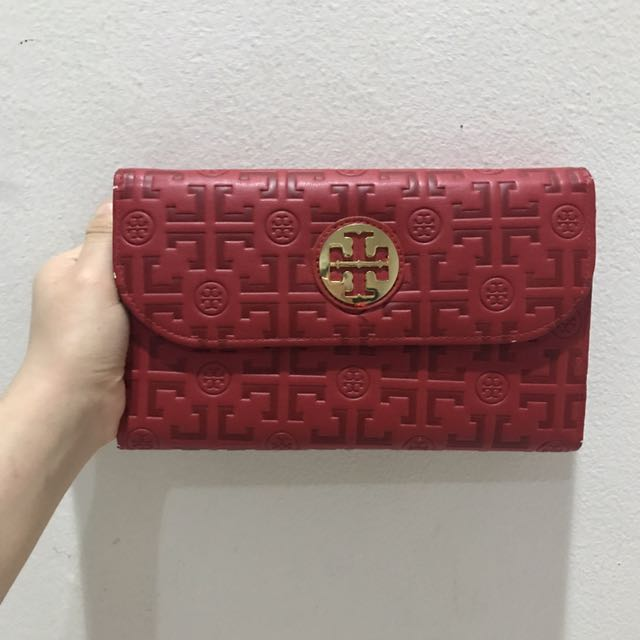 Tory Burch Clutch Red