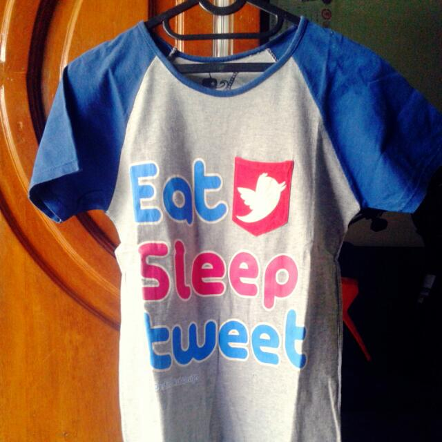 Tweet Grey T-shirt