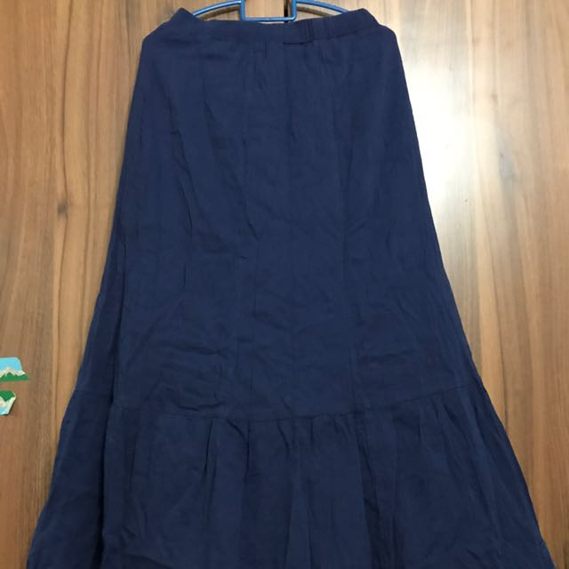 baf87b30d2 Uniqlo Japanese Linen Skirt