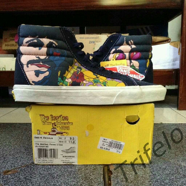 92265428bb Vans Sk8 High Reissue X The Beatles BNWB ORIGINAL 100%