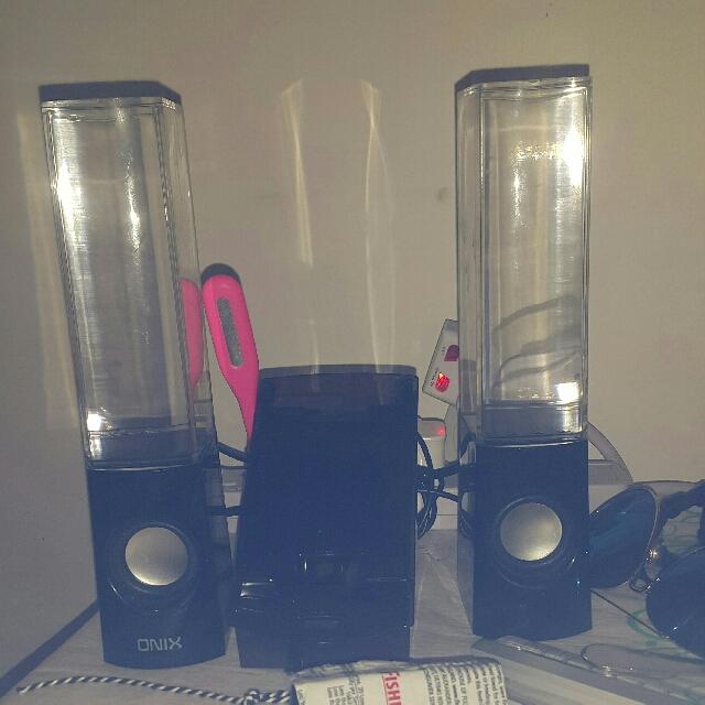 water dance speaker