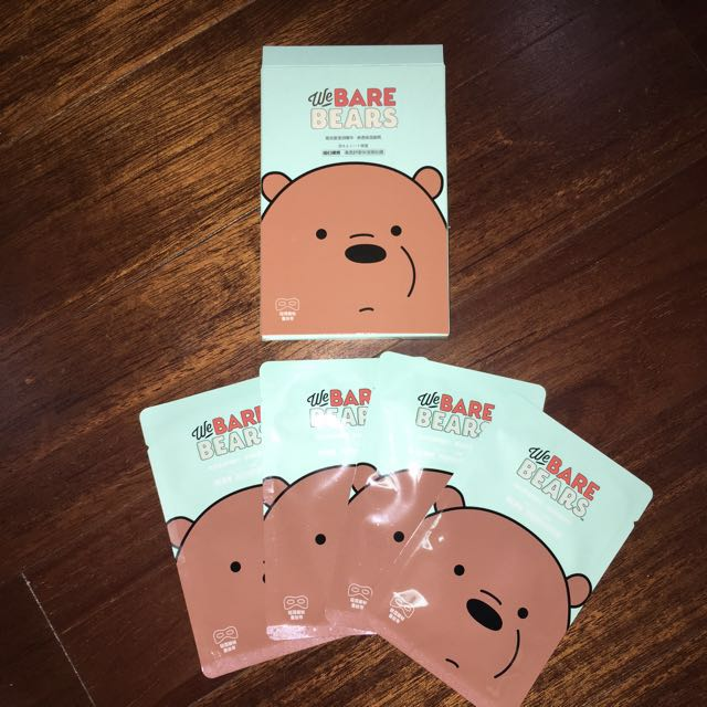 We Bare Bear Eye Mask