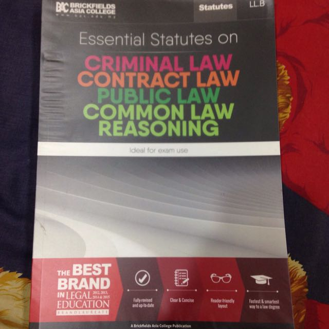 Year 1 LLB Law UOL UKT  Statute Book