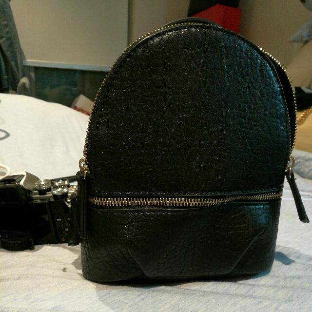 Zara Mini Backpack/ Sling Bag